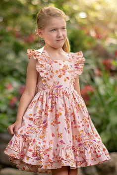 Toddler Dress Patterns, Summer Dress Patterns, Little Girl Dress Patterns, Kids Summer Dresses, Toddler Girl Dresses, Little Girl Fashion, Kids Fashion, Little Girl Dresses, Girls Dresses