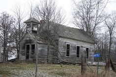 Old Schoolhouse by Northern Minnesota, via Flickr