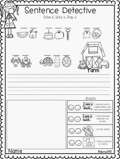 Mrs Jump's class: Sentence Detectives: No Prep Reading and Sight word fun FREEBIE!