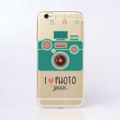 Capinha para celular Eu Amo Fotografia