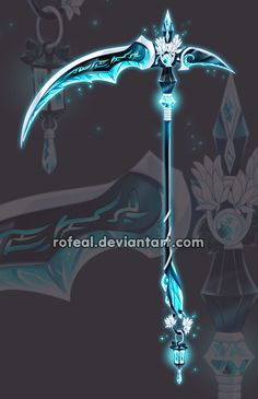 Not a sword, but awesome scythe Royal Assassin, Character Art, Character Design, Armas Ninja, Cool Swords, Ninja Weapons, Sword Design, Weapon Concept Art, Magic Art