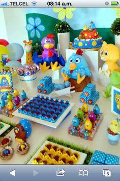 Idea de fiesta de cumpleaños de la Gallina Pintadita