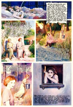 Christina Rossetti - Goblin market part 3 (of Famous Artists Paintings, Christina Rossetti, Fairytale Art, Goblin, Wonderful Images, Faeries, Art Forms, Mystic, Fairy Tales