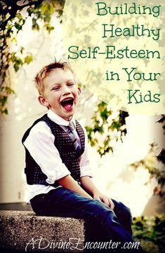 Excellent resource for Christian parents! 7 ways to build healthy self esteem. (Psalm 139:14) http://adivineencounter.com/self-esteem