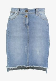 Isla Ibiza Bonita SKIRT - Denim skirt - denim