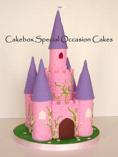 Square Castle Cake images
