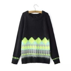 Buy 'Chicsense – Patterned Furry Sweater' with Free Shipping at YesStyle.com.au. Browse and shop for thousands of Asian fashion items from China and more!