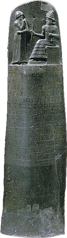 Stele of Hammurabi's Code