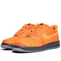 Nike Lunar Force 1 Fuse Black History Month (Total Orange)
