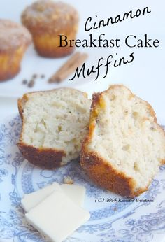 Breakfast Cake Muffins enhanced with Cinnamon
