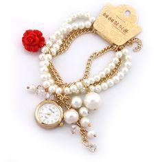 ALS1704 Quartz Watch, Bracelet Watch, Watches, Bracelets, Pattern, Jewelry, Women, Jewlery, Wristwatches