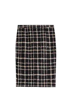BOUTIQUE MOSCHINO Wool Bouclé Pencil Skirt. #boutiquemoschino #cloth #day skirts