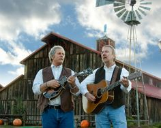 Chris Hillman & Herb Pedersen - Delaware Bluegrass Festival Labor Day Weekend September 2-4, 2016