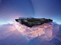 Ice Hotel Architecture and Hotel Design
