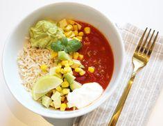 Vegan Chili, Little Kitchen, Chana Masala, Granola, Risotto, Ethnic Recipes, Food, Essen, Meals