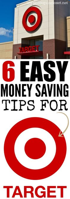 Love shopping at Target? Check out these easy Money Saving Tips for Target.