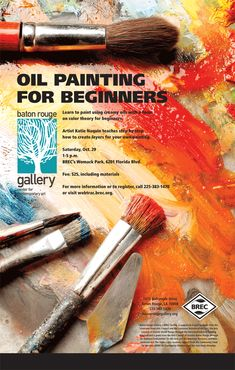 Oil Painting for Beginners by WallsCanTalkGallery.deviantart.com on @deviantART