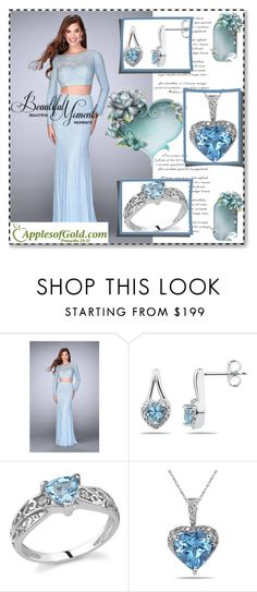 """""""Apples of Gold Jewelry 6."""" by sajra-de ❤ liked on Polyvore featuring La Femme"""