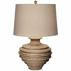 This Faux-Earthen Pot Jar Table Lamp is perfect! Kitchen Lamps, Ocean House, Rustic Charm, Home Kitchens, Pacific Coast, Kids Room, Table Lamp, Room Decor, Lighting