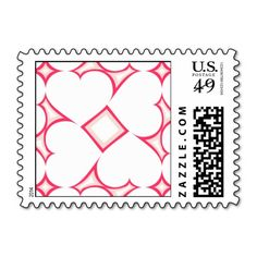 White hearts surround pattern postage stamps - White and pink hearts #heartwarestore => http://www.zazzle.com/white_hearts_surround_pattern_6_postage_stamps-172466791475934940?CMPN=addthis&lang=en&rf=238590879371532555