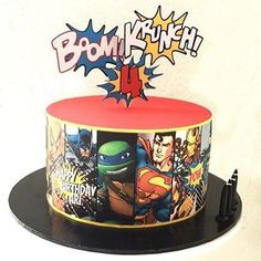 Boom KRUNCH Pow - Cake by Cardique
