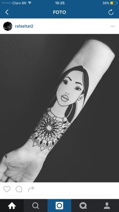 Pocahontas + mandala ❤️✨