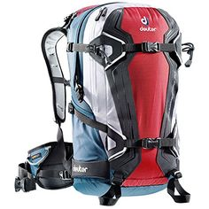 DEUTER Freerider Pro 30 Backpack Fire Arctic Red One Size ** Click image to review more details. This is an Amazon Affiliate links.