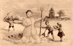 Norwegian Antique Postcard