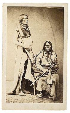 Neva, Spotted Wolf - Arapaho - 1863: