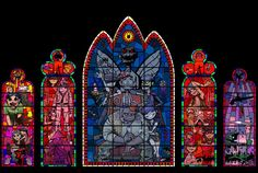 gorillaz-art:  Stained glass