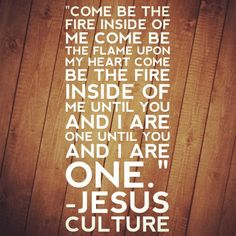 You Won't Relent by Jesus Culture!!!! I love this song so much!!!!! #worship #music