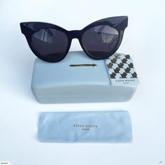 c2b65d03580f Karen Walker Sunglasses - Starburst (Navy   Gold)