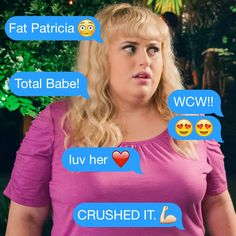 Pin if you heart Fat Amy. #WCW