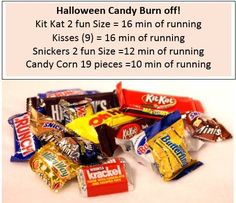 candy burn off - workout