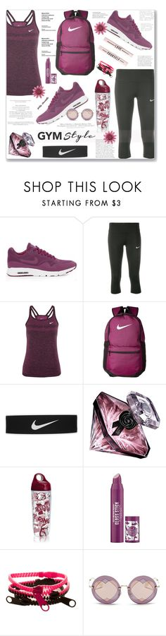 """""""Work It Out - Gym Essentials:  13/06/17"""" by pinky-chocolatte ❤ liked on Polyvore featuring NIKE, Lancôme, Tervis, H&M, Soap & Glory and Miu Miu"""