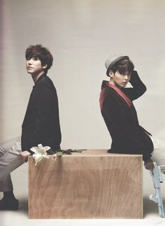 Super Junior - Kyuhyun Ryeowook Come visit kpopcity.net for the largest discount fashion store in the world!!