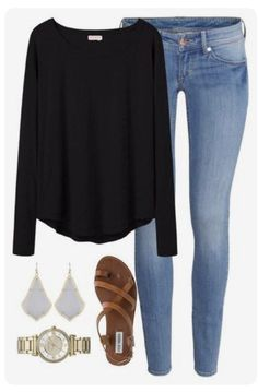 Look at our very easy, comfortable & just cool Casual Outfit ideas. Get motivated with one of these weekend-readycasual looks by pinning one of your favorite looks. casual outfits for work Mode Outfits, Fashion Outfits, Womens Fashion, Club Outfits, Ladies Fashion, Fashion Ideas, Fashion Scarves, Curvy Outfits, Fashion 101