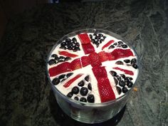 Michael Payne's Union Jack Trifle