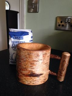 Wooden Beer Mug, Craft Items, Spoons, Bowls, Drinking, Canning, Mugs, Crafts, Style