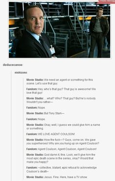 Coulson lives - this was tweeted by Clark Greeg