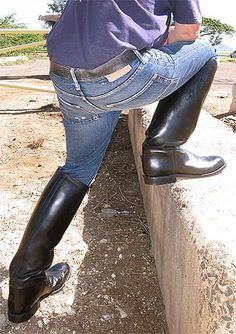 Western Boots, Cowboy Boots, Tall Boots, Men's Boots, Mens Boots Fashion, Sexy Jeans, Leather Men, Jeans And Boots, Riding Boots