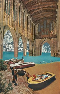Collages by Jesse Treece