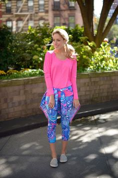 Lilly Pulitzer Luxletic Collection Launch