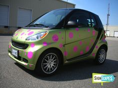 Smart Car Custom Wrap
