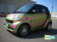 Smart Car Custom Wrap