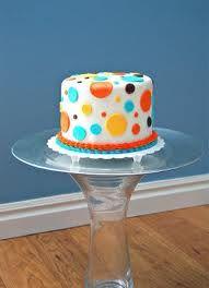 simple but cute smash cake