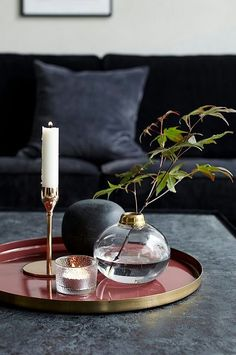 7 Dreamy coffee table styling ideas for the winter season - Interior Decoration Accessories coffee tables