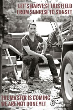 Brandon Heath 'the Harvester'