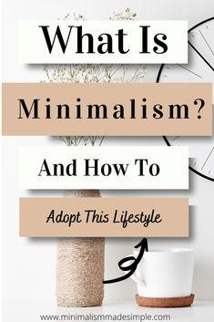 Living Simple Life, Simple Life Hacks, Minimalist Quotes, Minimalist Living, Minimalism Blog, Materialistic, Minimalist Lifestyle, Slow Living, Life Inspiration