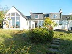 A Unique Waterside Cottage in an Awe-Inspiring Setting. Holiday Lettings, Cottage, Cabin, Smoke, Mansions, House Styles, Scotland, Plants, Easter